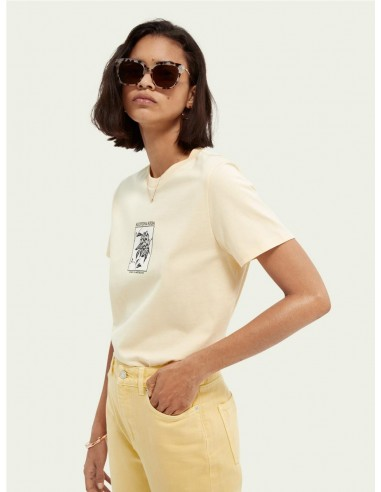 MAISON SCOTCH-TEE RELAXED FIT